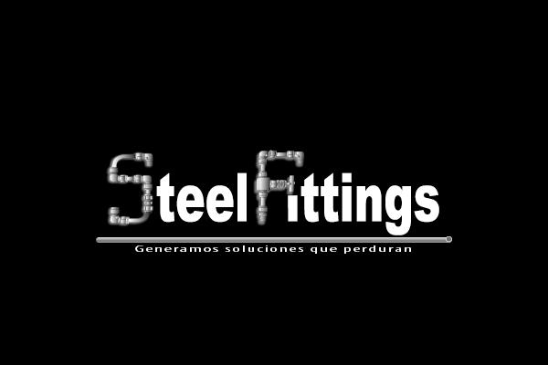 Diseño de logo Steel Fittings